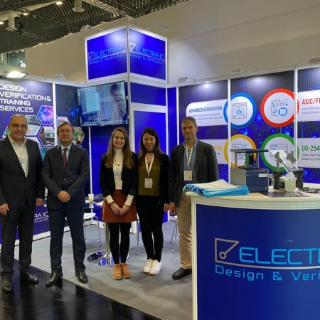 ElectraIC Introduced Its Products and Solutions at the Embedded World Fair in Germany-ElectraIC