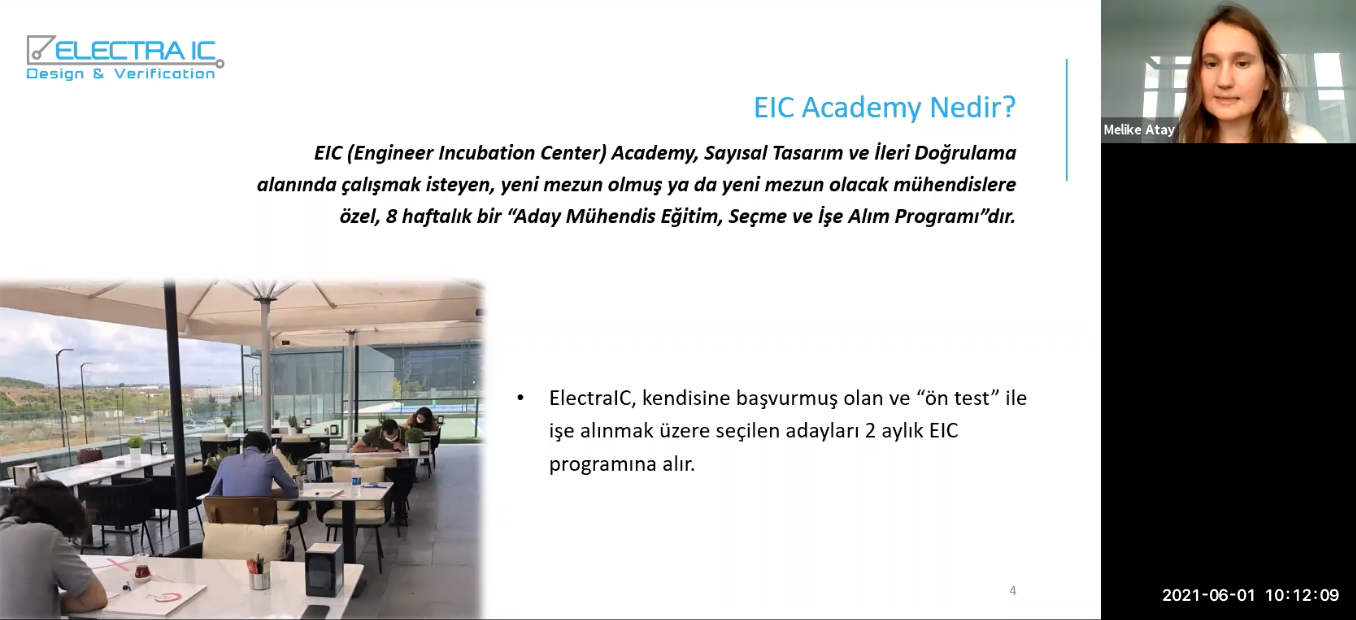 We Introduced EIC Academy to Engineer Candidates from ITU and YTU