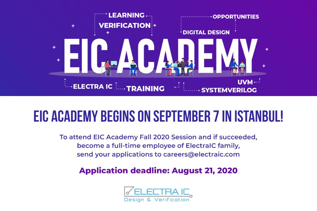 EIC Academy: A great opportunity for your career!-ElectraIC