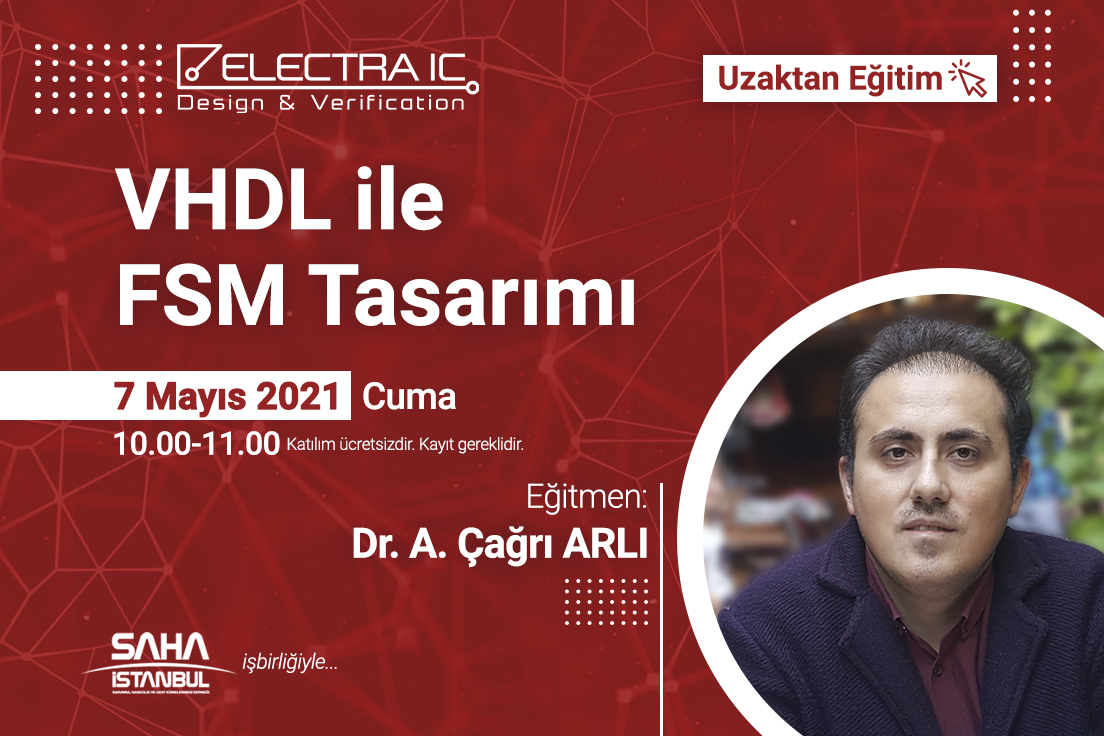 """ElectraIC Continued its Free Online Trainings with """"FSM Design with VHDL"""" webinar"""